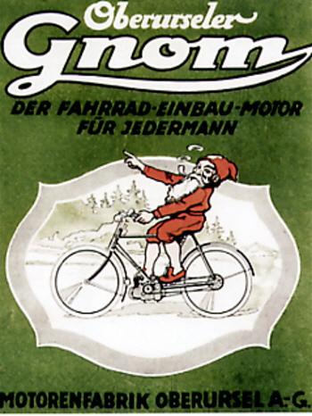 Werbung-Gnom